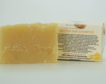1 piece Butter Bar Shampoo & Conditioner, 100% Natural Handmade 65g