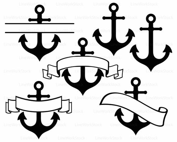 anchor svg anchor clipart anchor svg anchor silhouette anchor cricut rh etsystudio com anchor clip art free anchor clip art free