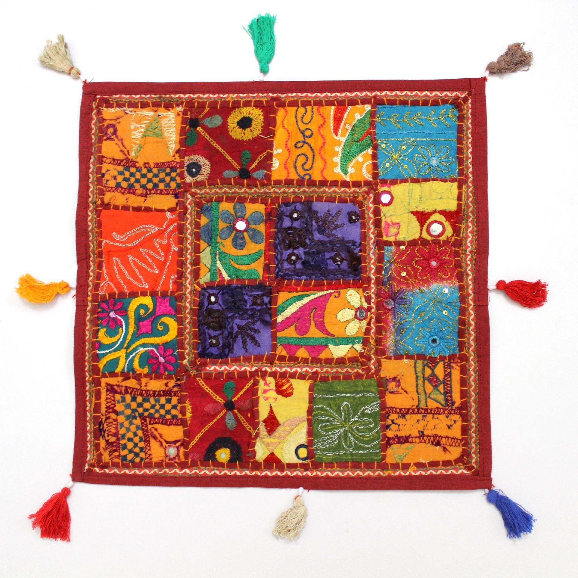 Handmade Hippie Gypsy Home Decor Ethnic Multi color
