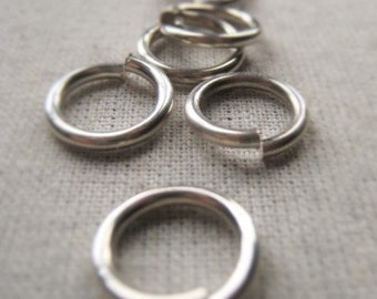 Sterling Silver Jump Ring 11mm Open Ring Connector Item No. 6936