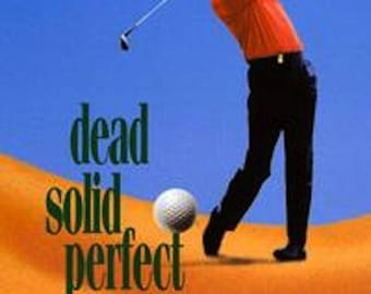 Dead Solid Perfect DVD 1988 Rare Randy Quaid Golf