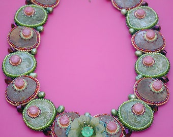 Lilly Pad Necklace