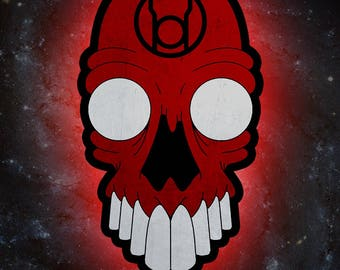 Red Lantern Corps *PRINT*