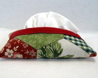 Patchwork Pocket Tissue Holder Country Tissue Cozy