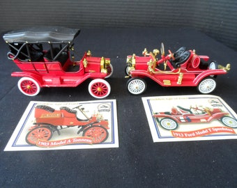Golden Age Ford Collection Nat'l Motor Museum 1/32 Scale Diecast Red  Model T Touring Car 1913 Ford Model T Speedster 1401
