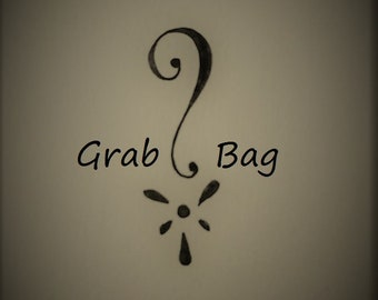 Steampunk Grab Bag, Surprise Bag, Mystery Bag, Jewelry Making Supplies, Beading Supplies, Mixed Lot, Vintage Style