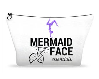 Large Mermaid makeup bag