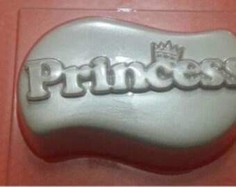 Princess - plastic soap mold soap making soap mould molds soap mold