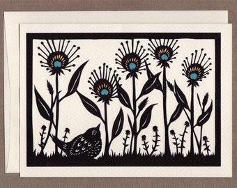 Summer Garden - Greeting Card