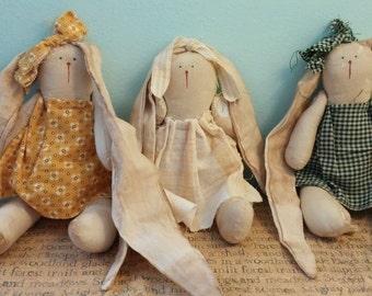 bunny rag dolls
