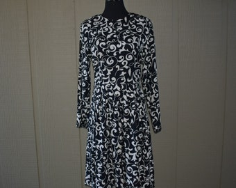 Vintage 1980's Lanz Originals paisley dress