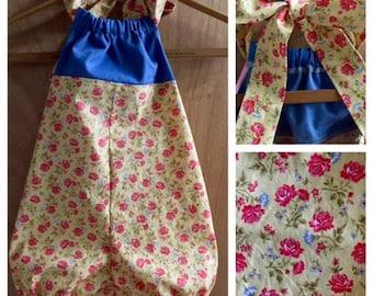 Denim and Cotton Boho Spring/Summer Romper, size 4t