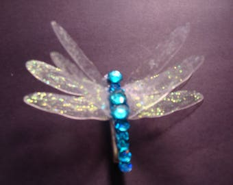 Jeweled Dragonfly Pin