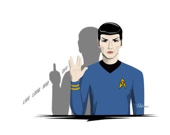 Live Long and _______ Off (Spock)