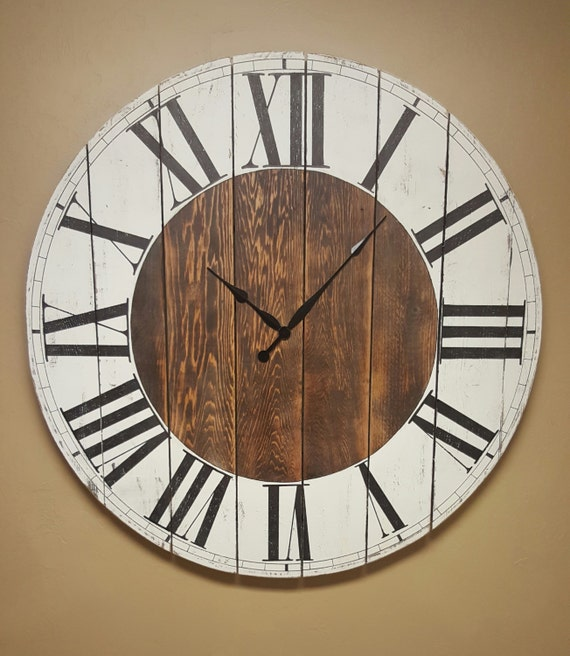 The Abigail Farmhouse Wall Clock Oversized Wall