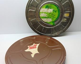 Vintage Film Reel Cans