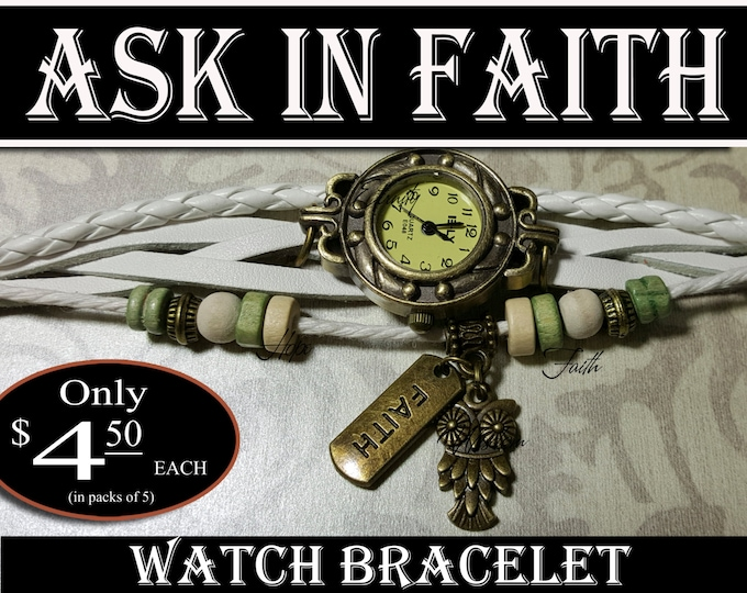 YW 2017 Ask of God Ask in Faith Charm Watch Bracelets Young Women Theme Jewelry Charms New Beginnings, Missionary, Christmas, Birthday gifts