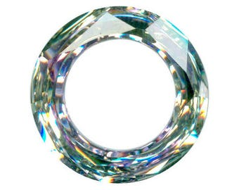 Swarovski frame, undrilled, Cosmic Ring, Vitrail Light,  14mm  - #2278