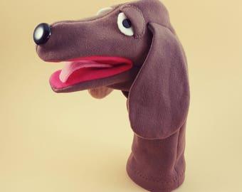 Hand Puppet- Hound Dog