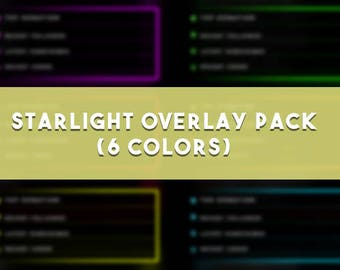 Starlight Overlay Pack (6 Colors)
