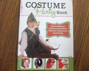 HALLOWEEN COSTUME BOOK - Costume Party Book by Design Originals - Easy To Make Costumes - Inexpensive Costumes