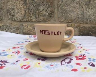Nestles ceramic mug and saucer