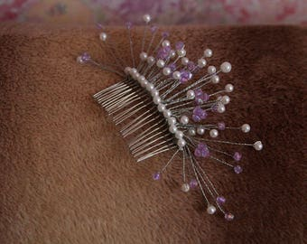 Wedding hair accessory  Bridal comb