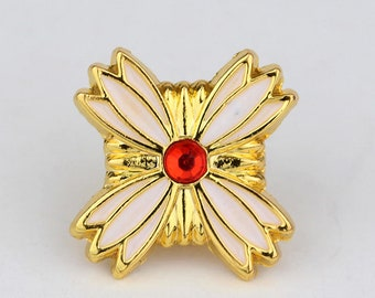 Phoenix Wright Ace Attorney Pin Badge Apollo Justice Objection Jewelry Cosplay Lawyer Prosecutor