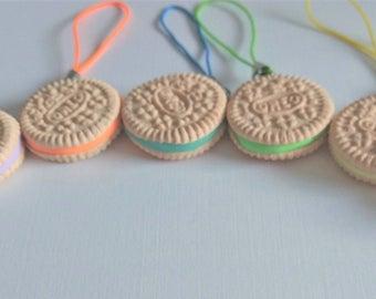 Oreo clay charms