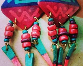 Afro Inspired Earrings