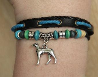 Greyhound Whippet Bracelet - Galgo Bracelet - Italian Greyhound Jewelry