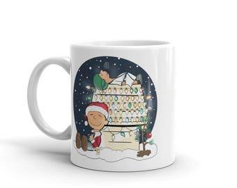 National Lampoons Christmas Vacation inspired mug / Clark Griswold mug / cousin eddy/ christmas Mug