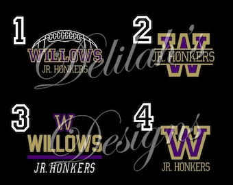 Willows Football Honkers/Jr. Honkers