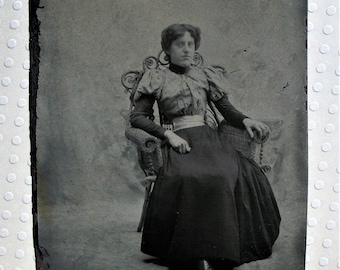 Tintype ~ Lady of Leisure