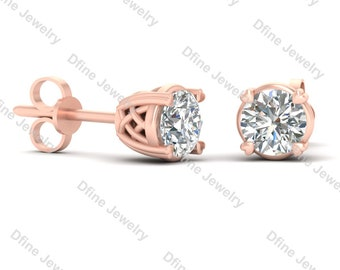 graceful jewelry in synthetic gold item stud sona jewellery diamond romantic white female from earrings snowflake engagement