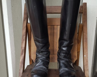RIDE   ///    Leather Riding Boots