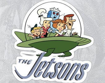The Jetsons High Quality Sticker