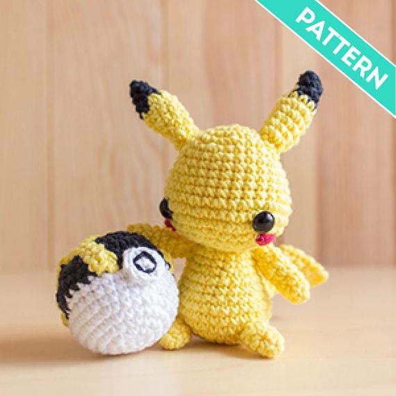 Patrón Amigurumi Pikachu PATRÓN INGLÉS PDF Patrón a