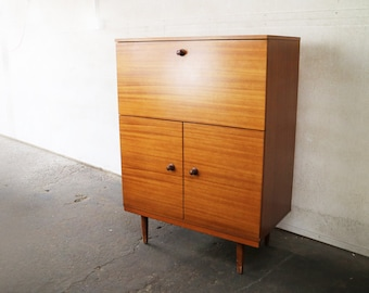 1970's mid century English drinks cabinet/sideboard by Avalon