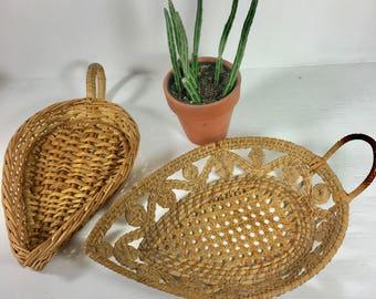 Vintage Basket Set of 2
