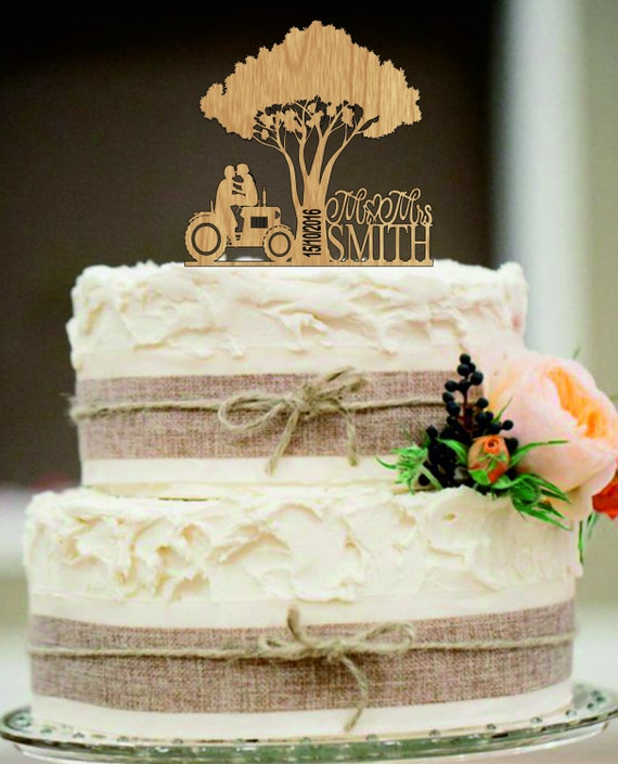 Cake Made Of Fruit Tractor