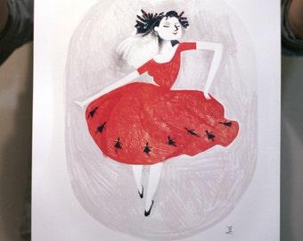 Winter 2014 --- Dancing woman