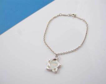 Delightful Tiffany & Co. Elsa Peretti Star Bracelet