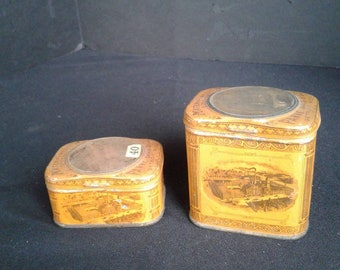 Vintage medical containers