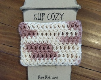 Cup Cozy/ Desert Blush