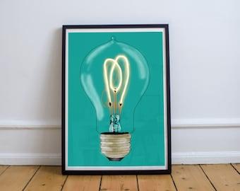 Glow #4: Print