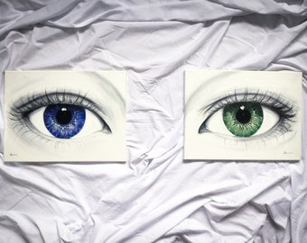 Ocean and Forest Eyes