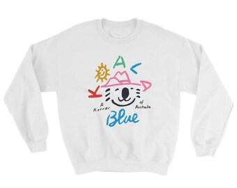 Olivia Newton-John Koala Blue Pullover Sweatshirt