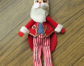 Vintage Rare Uncle Sam Santa Christmas Ornament