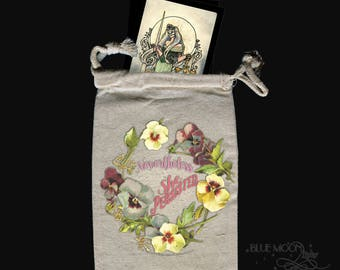 Persistence Inspirational Tarot bag drawstring pouch